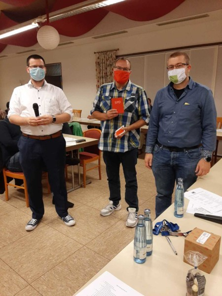 Ingo Reddeck, Cengiz Kaban und Jan Hühnerberg