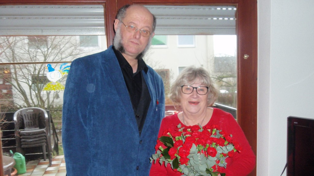 Gratulation zum 75. Geburtstag und zu 50 Jahren Mitgliedschaft
